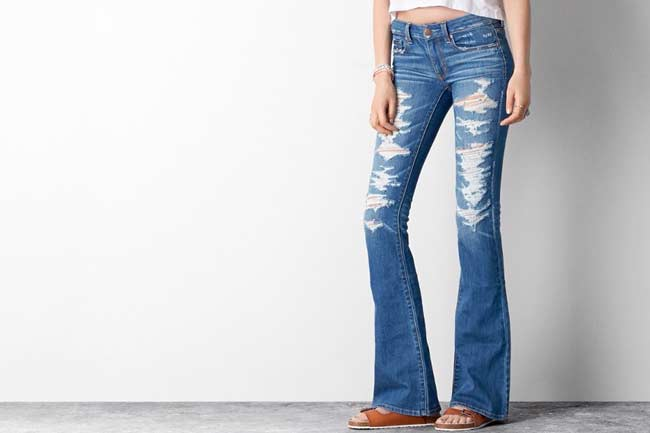 Flare Jeans for Fall: Affordable Denim Trends for 2015 ...