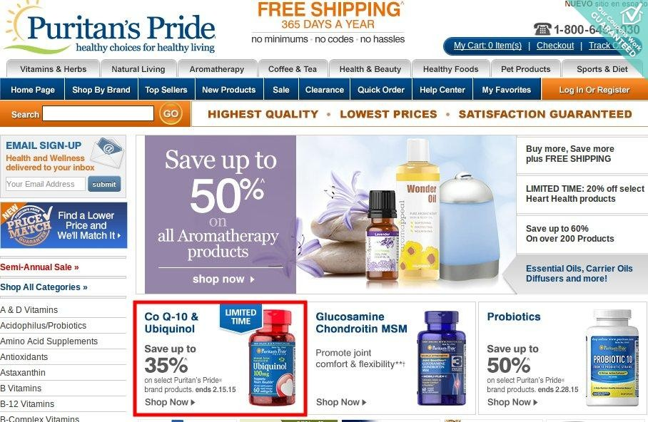 Coupon code puritan's pride