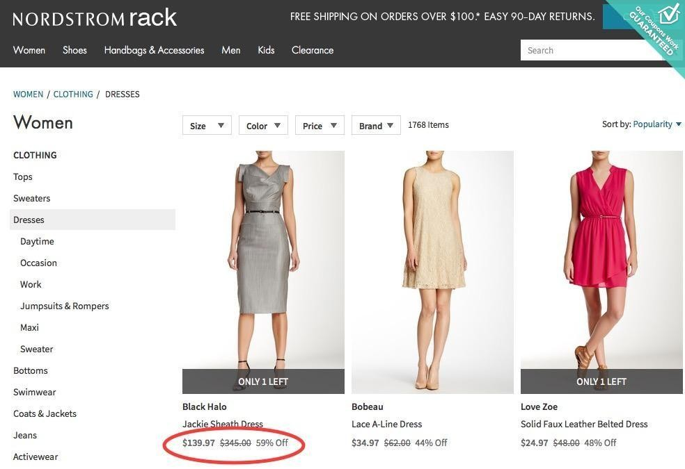 Nordstrom Rack Coupon Codes