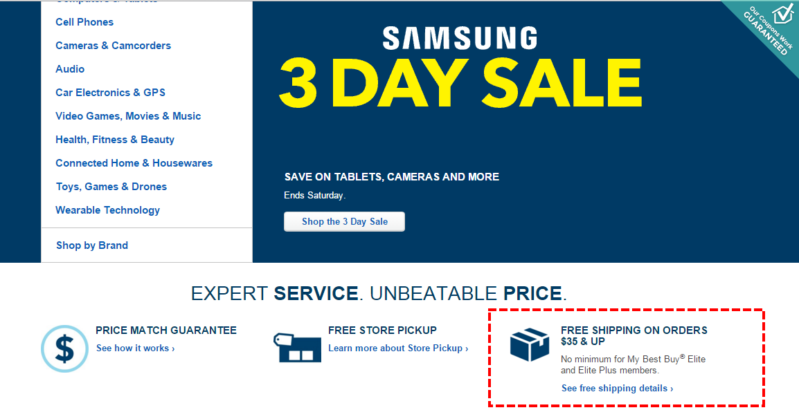 Discount coupons for best buy