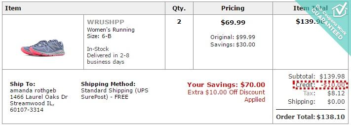 joes outlet new balance coupon code