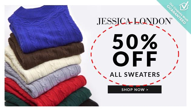 Jessica london coupons 50